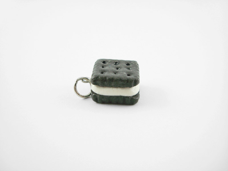 Miniature Charm Cookie Sandwich Square Vanilla Icing