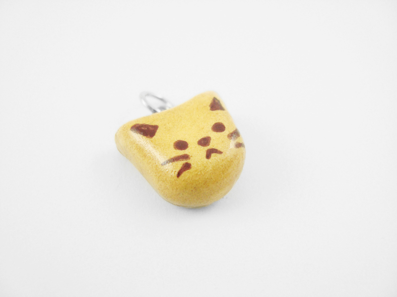 Cat Cookie Necklace